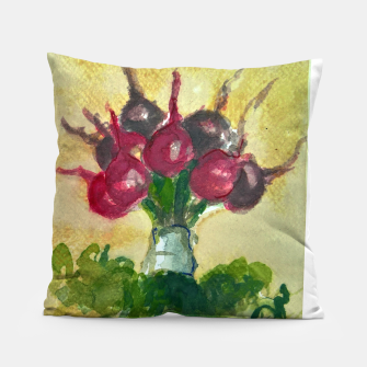 Thumbnail image of Updown vegetable bouquet downup taba Pillow, Live Heroes