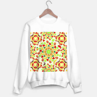 Thumbnail image of Mandala Summer Fruits and Juice Sweater regular, Live Heroes