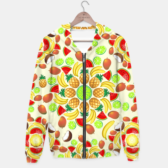 Thumbnail image of Mandala Summer Fruits and Juice Hoodie, Live Heroes