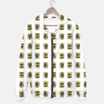 Thumbnail image of vegetable bouquet pattern by Yulia Korneva taba  Hoodie, Live Heroes