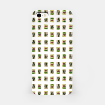 Thumbnail image of vegetable bouquet pattern by Yulia Korneva taba  iPhone Case, Live Heroes