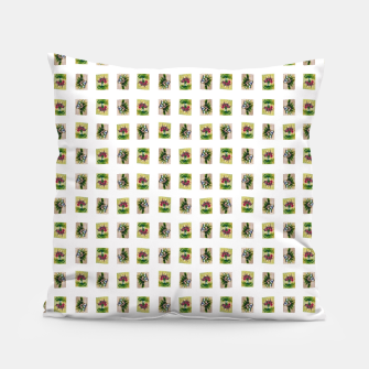 Thumbnail image of vegetable bouquet pattern by Yulia Korneva taba  Pillow, Live Heroes