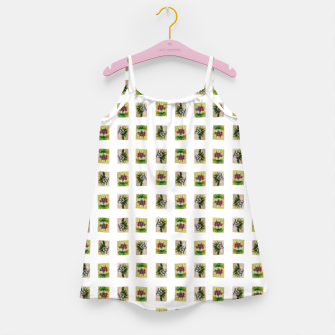 Thumbnail image of vegetable bouquet pattern by Yulia Korneva taba  Girl's Dress, Live Heroes