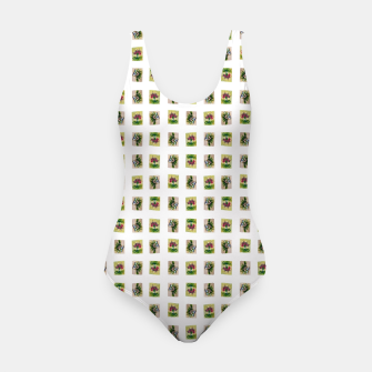 Thumbnail image of vegetable bouquet pattern by Yulia Korneva taba  Swimsuit, Live Heroes