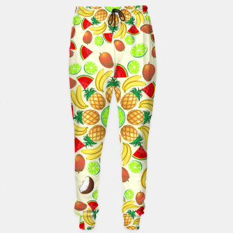 Thumbnail image of Mandala Summer Fruits and Juice Sweatpants, Live Heroes