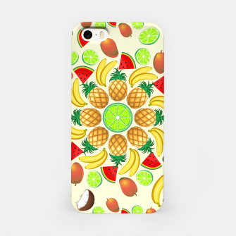 Thumbnail image of Mandala Summer Fruits and Juice iPhone Case, Live Heroes