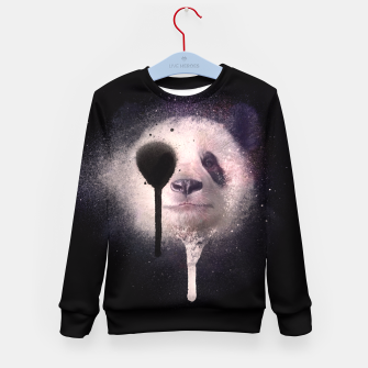 Thumbnail image of Panda Kid's Sweater, Live Heroes