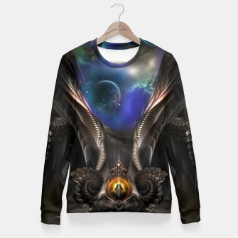 Thumbnail image of Seeing Past Oblivion Arsencia Fitted Waist Sweater, Live Heroes