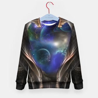 Thumbnail image of Seeing Past Oblivion Arsencia Kid's Sweater, Live Heroes