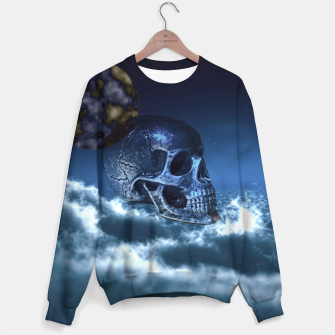 Thumbnail image of Skull and Moon Sweater, Live Heroes