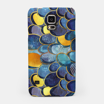 Thumbnail image of Abstract deep blue Samsung Case, Live Heroes