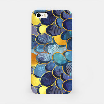 Thumbnail image of Abstract deep blue iPhone Case, Live Heroes