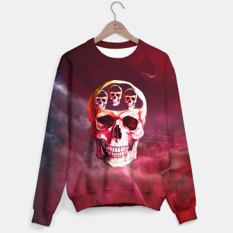 Thumbnail image of Funny Skull Sweater, Live Heroes