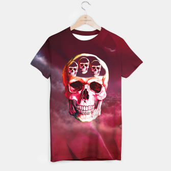 Thumbnail image of Funny Skull T-shirt, Live Heroes