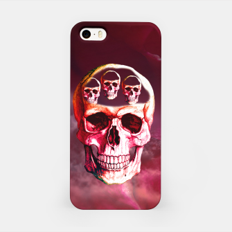 Funny Skull iPhone Case thumbnail image