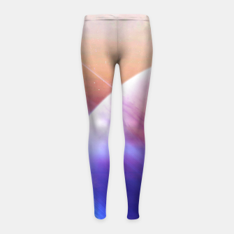 Thumbnail image of Return to the secrets of the galaxy  Girl's Leggings, Live Heroes