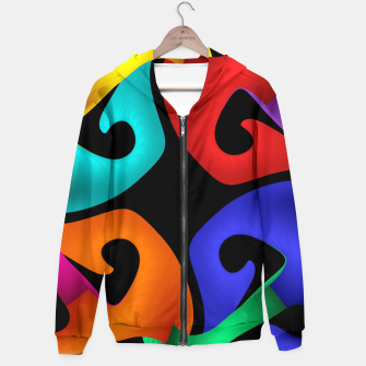 Thumbnail image of crossing colors -2- Hoodie, Live Heroes