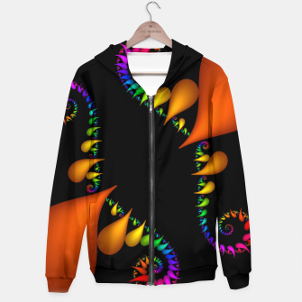 crossing colors -3- Hoodie thumbnail image