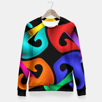 Thumbnail image of crossing colors -2- Fitted Waist Sweater, Live Heroes