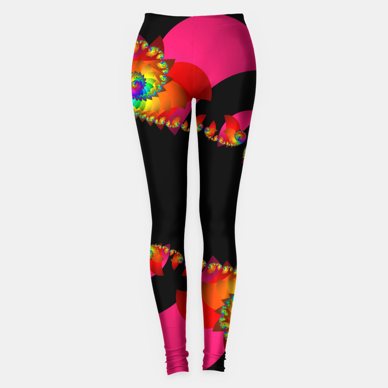 Image of crossing colors -1- Leggings - Live Heroes