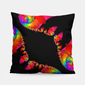 crossing colors -1- Pillow thumbnail image