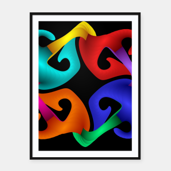 crossing colors -2- Framed poster thumbnail image