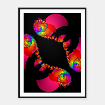 crossing colors -1- Framed poster thumbnail image