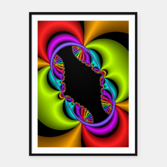 crossing colors -4- Framed poster thumbnail image