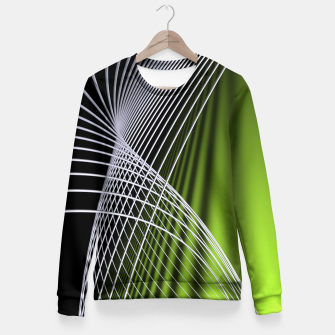 Thumbnail image of crossing lines -5- Fitted Waist Sweater, Live Heroes