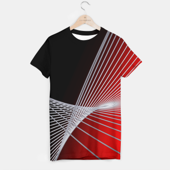 Thumbnail image of crossing lines -6- T-shirt, Live Heroes