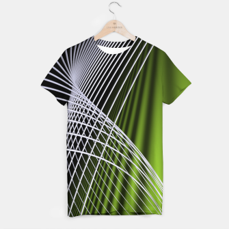 Thumbnail image of crossing lines -5- T-shirt, Live Heroes