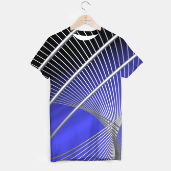 Thumbnail image of crossing lines -4- T-shirt, Live Heroes