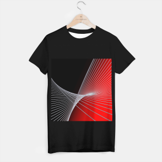 Thumbnail image of crossing lines -6- T-shirt regular, Live Heroes