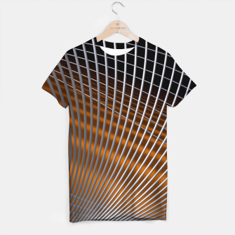 Thumbnail image of crossing lines -2- T-shirt, Live Heroes