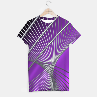 crossing lines -1- T-shirt thumbnail image