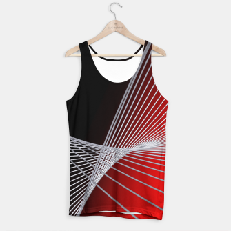 Thumbnail image of crossing lines -6- Tank Top, Live Heroes