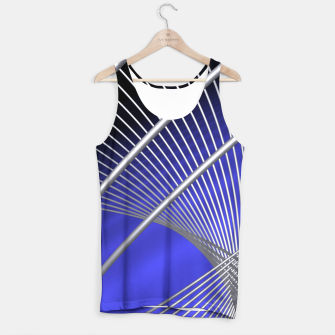 Thumbnail image of crossing lines -4- Tank Top, Live Heroes