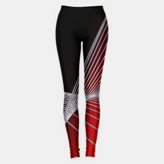 Thumbnail image of crossing lines -6- Leggings, Live Heroes