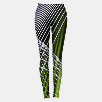 Thumbnail image of crossing lines -5- Leggings, Live Heroes