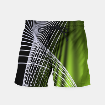 Thumbnail image of crossing lines -5- Swim Shorts, Live Heroes