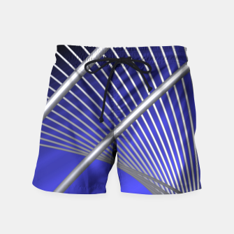 Thumbnail image of crossing lines -4- Swim Shorts, Live Heroes