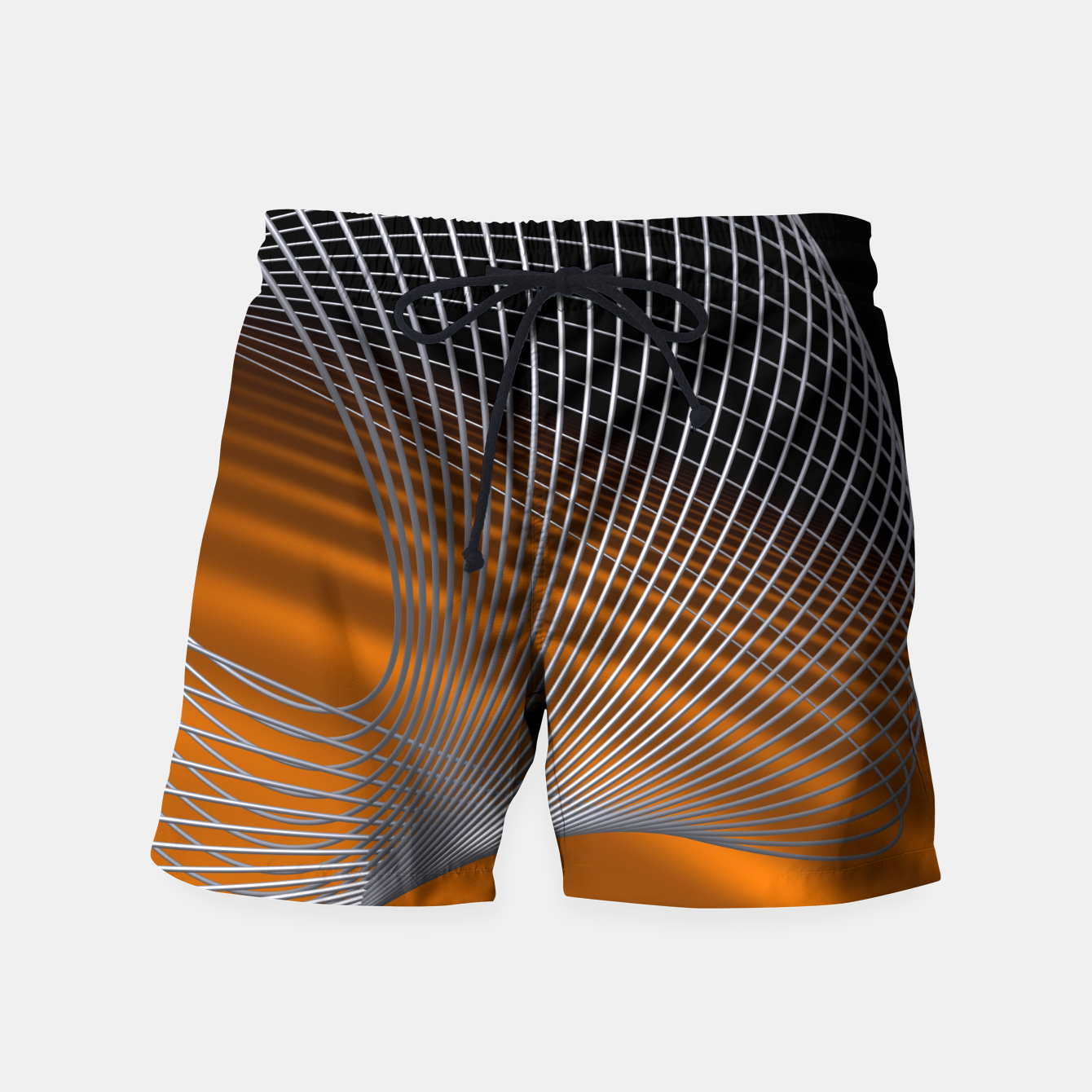 Image of crossing lines -2- Swim Shorts - Live Heroes