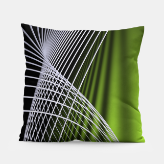 crossing lines -5- Pillow thumbnail image
