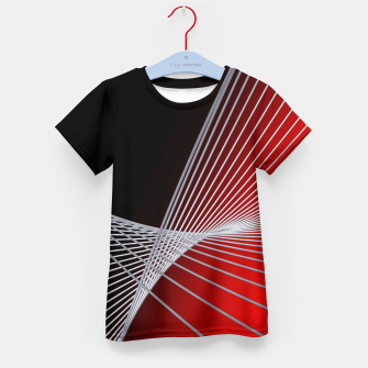 Thumbnail image of crossing lines -6- Kid's T-shirt, Live Heroes