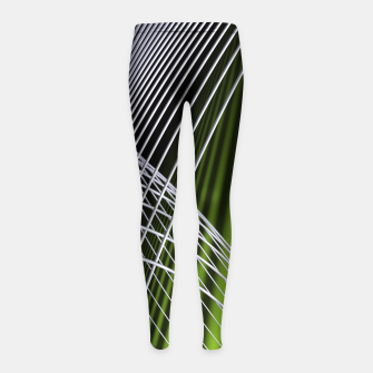 Thumbnail image of crossing lines -5- Girl's Leggings, Live Heroes