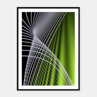 crossing lines -5- Framed poster thumbnail image