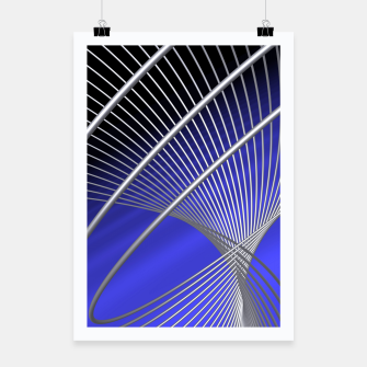 Thumbnail image of crossing lines -4- Poster, Live Heroes
