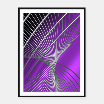 Thumbnail image of crossing lines -1- Framed poster, Live Heroes