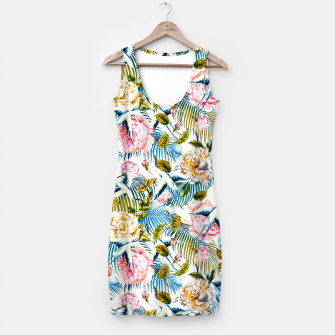 Miniatur Flowering Jungle of Birds - Pattern Vestido, Live Heroes