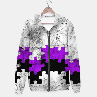 Thumbnail image of puzzle -1- Hoodie, Live Heroes